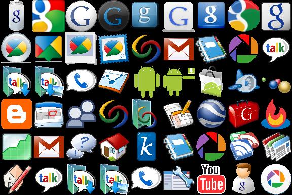 لیست کامل از همه نرم افزار های گوگلی